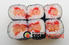 Foto Salmon california maki